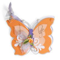 SIZZIX 656691 Форма для вырубки Альбом-бабочка Bigz XL Die 656691