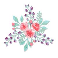 "SIZZIX 665083 ""Sizzix"" 665083 Ножи для вырубки 7 шт. Цветочная решетка №2/ Floral Layers 2"