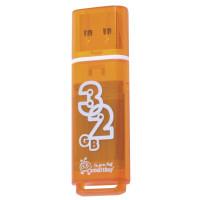 SMARTBUY SB32GBGS-Or Флеш-диск 32 GB, SMARTBUY Glossy, USB 2.0, оранжевый, SB32GBGS-Or