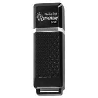 SMARTBUY SB32GBQZ-K Флеш-диск 32 GB, SMARTBUY Quartz, USB 2.0, черный, SB32GBQZ-K