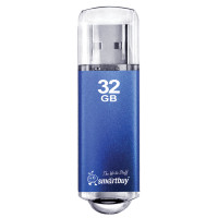 SMARTBUY SB32GBVC-B Флеш-диск 32 GB, SMARTBUY V-Cut, USB 2.0, металлический корпус, синий, SB32GBVC-B