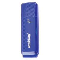 SMARTBUY SB8GBDK-B Флеш-диск 8 GB, SMARTBUY Dock, USB 2.0, синий, SB8GBDK-B