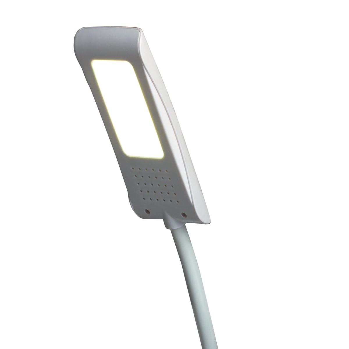 Светильник настольный SONNEN TL-LED-004-7W-12, на подставке, светодиодный, 7 Вт, 12 LED, белый, 235541 (арт. 235541)