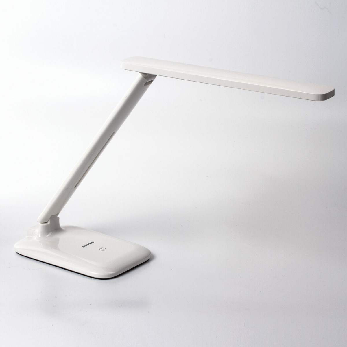 Светильник настольный SONNEN BR-889, на подставке, светодиодный, 8 Вт, белый, 236662 (арт. 236662)