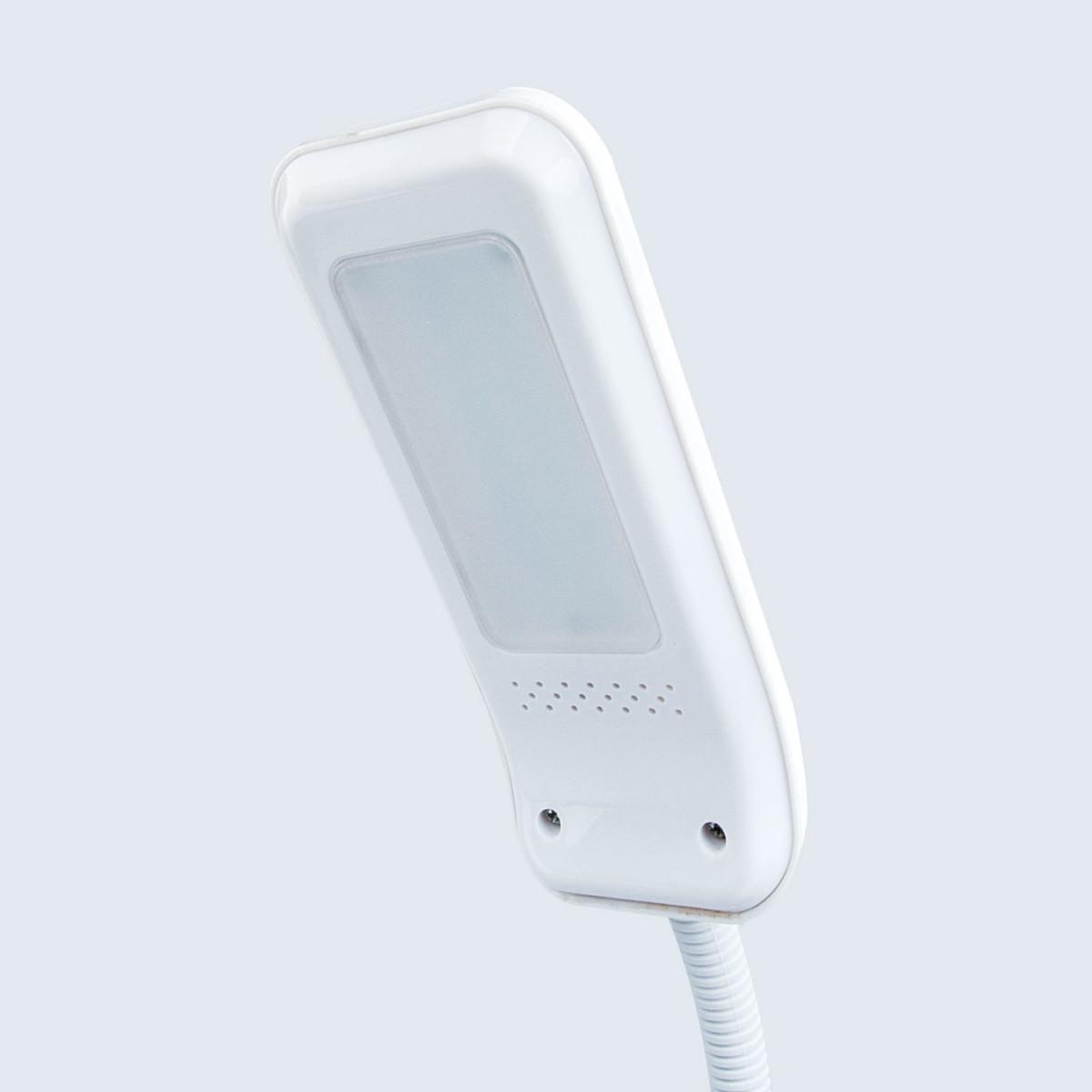 Светильник настольный SONNEN OU-147, на подставке, светодиодный, 5 Вт, белый/фиолетовый, 236672 (арт. 236672)
