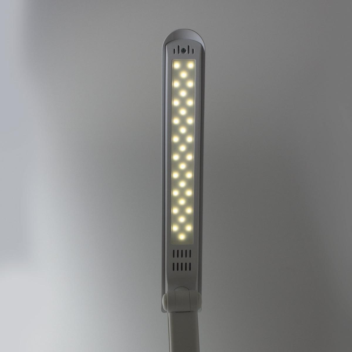 Светильник настольный SONNEN PH-307, на подставке, светодиодный, 9 Вт, пластик, белый, 236683 (арт. 236683)