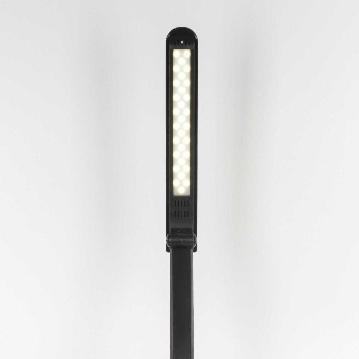 Светильник настольный SONNEN PH-307, на подставке, светодиодный, 9 Вт, пластик, черный, 236684 (арт. 236684)