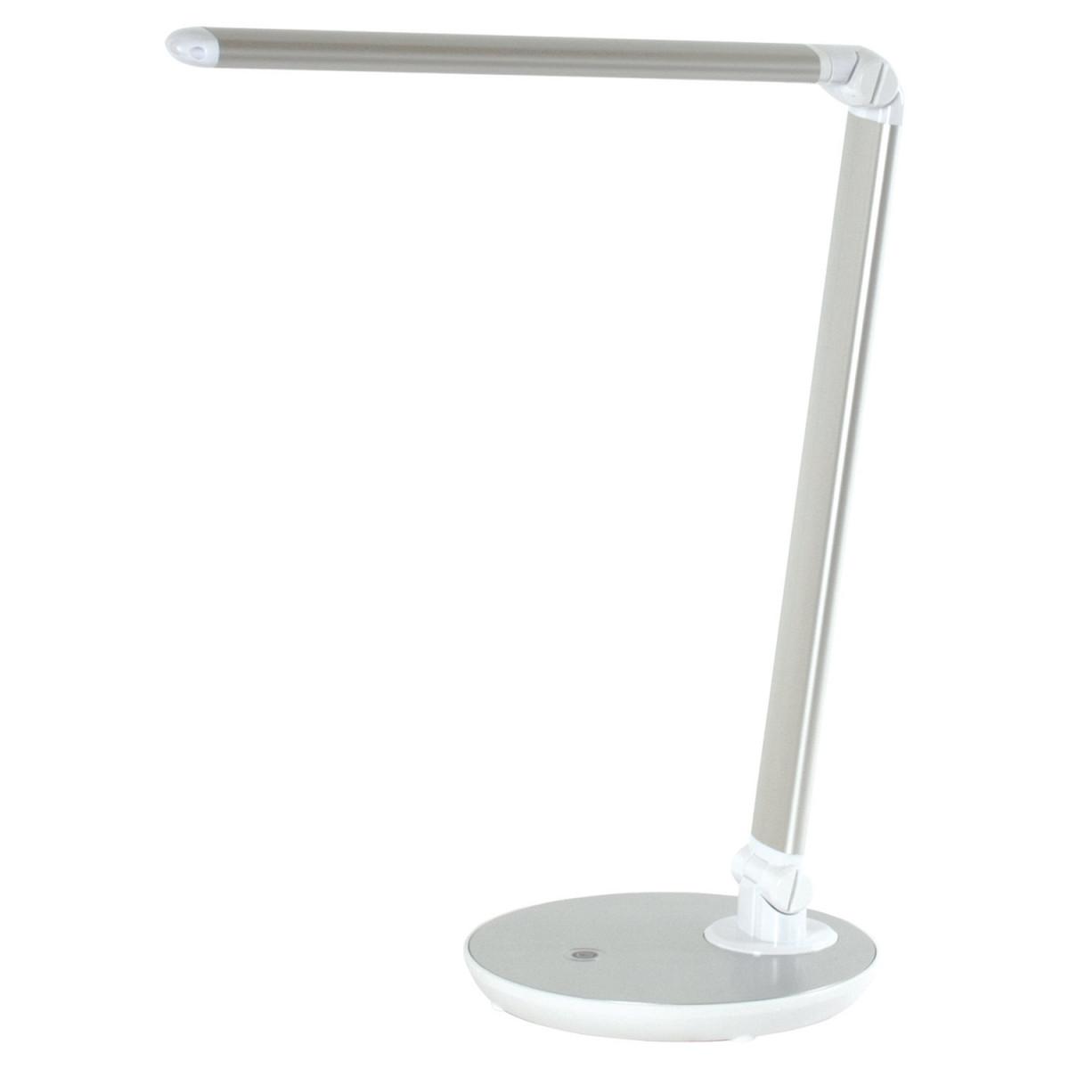 Светильник настольный SONNEN PH-3609, на подставке, светодиодный, 9 Вт, алюминий, серебристый, 236688 (арт. 236688)