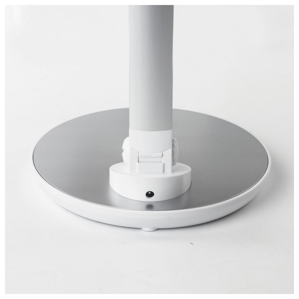 Светильник настольный SONNEN PH-309, на подставке, светодиодный, 10 Вт, алюминий, белый, 236689 (арт. 236689)