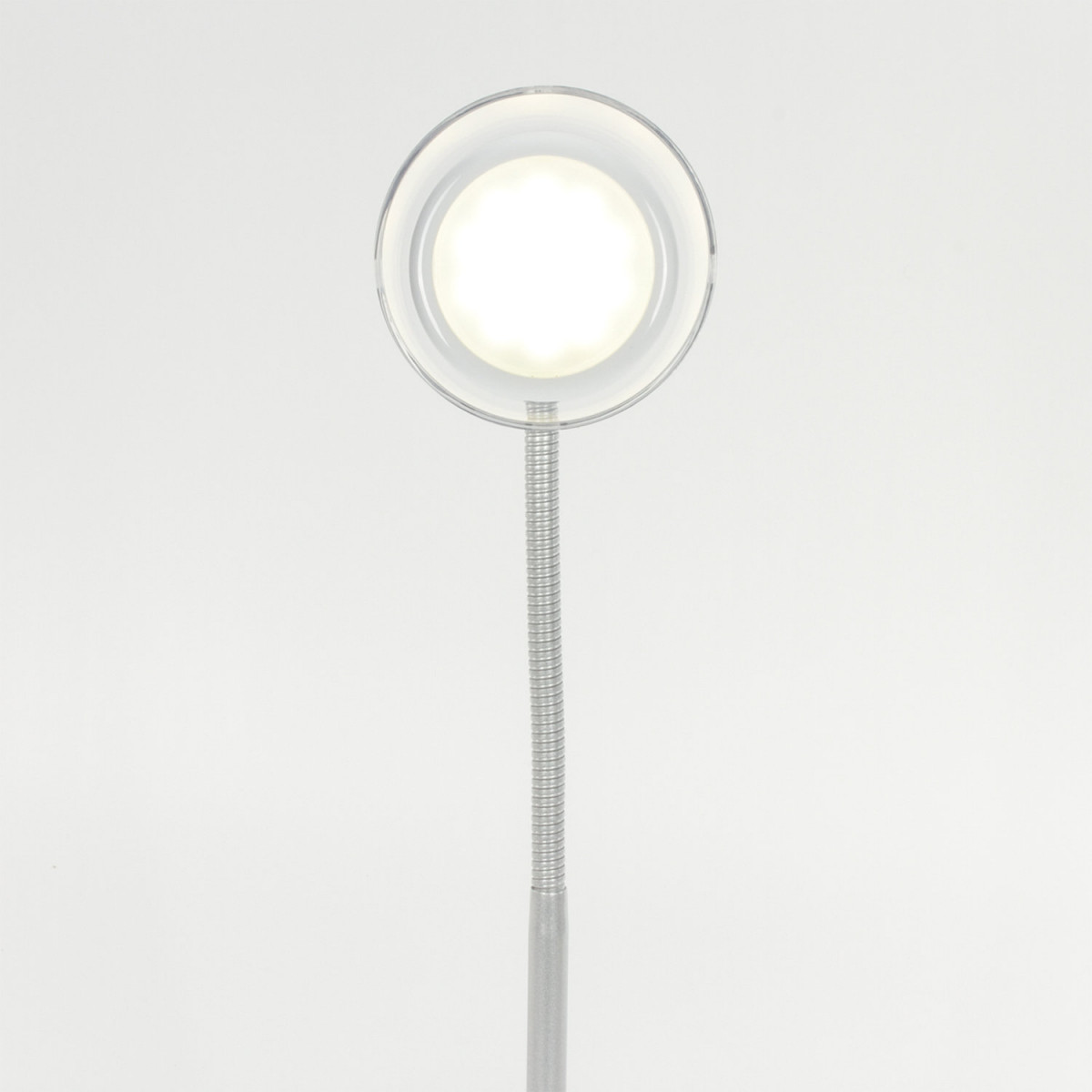 Светильник настольный SONNEN PH-329, на подставке, СВЕТОДИОДНЫЙ, 6 Вт, АККУМУЛЯТОР, зарядка от USB, белый, 236695 (арт. 236695)