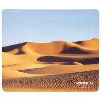 "SONNEN 513296 Коврик для мыши SONNEN ""DESERT"", резина + ткань, 260х220х3 мм, 513296"