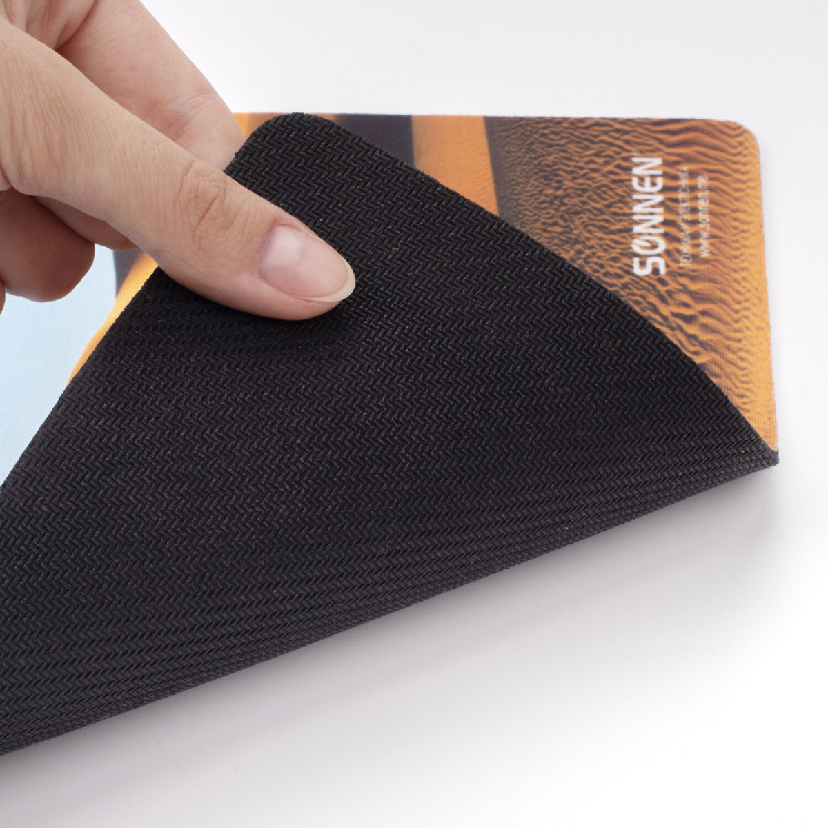 "Коврик для мыши SONNEN ""DESERT"", резина + ткань, 260х220х3 мм, 513296 (арт. 513296)"