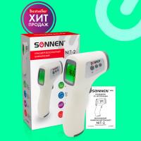 SONNEN 630829 Термометр бесконтактный инфракрасный SONNEN NIT-2 (GP-300), электронный, 630829
