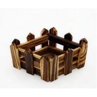 Sovushka 22936 Деревянная заготовка 812В забор-ромб, 9,5см*7см