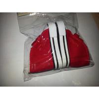 Sovushka 25260 Кеды для кукол на лип. , размер по подошве 7,5см*выс.4,5 см., пара, цв. красный.
