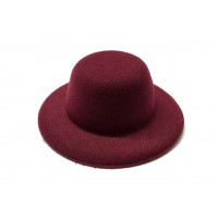 Sovushka 26674 Шляпа круглая ( 8 см) уп=1шт цв. бордовый