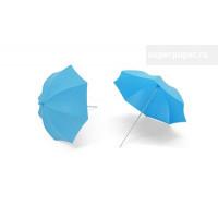 Sovushka 28418 Зонтик 2014 пластик, 130*130*130мм, 2шт/упак., цв.голубой