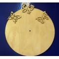 ПКФ Созвездие 045537 Циферблат круглый с бабочками