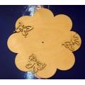 ПКФ Созвездие 045538 Циферблат Цветок с бабочками