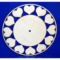 ПКФ Созвездие 045829 Циферблат с сердечками