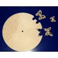 ПКФ Созвездие 046233 Циферблат с бабочками
