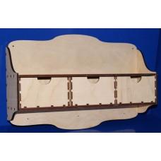 Полочка с ящиками (арт. 046564)