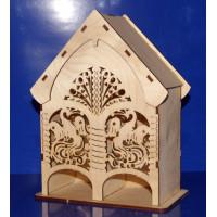 ПКФ Созвездие 047121 Чайный домик средний двойной Жар-птица