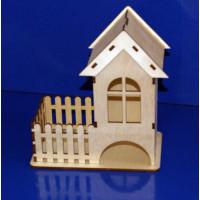 ПКФ Созвездие 050095 Чайный домик с окошком + конфетница-заборчик