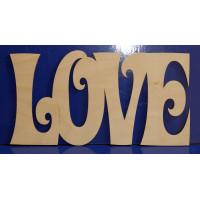 ПКФ Созвездие 050274 LOVE №3 29х15 см LOVE №3 29х15 см