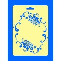 "ПКФ Созвездие 050431 Трафарет ""Розы"" рамка"