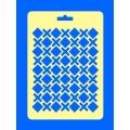 """ПКФ Созвездие 050436 Трафарет """"Ромбы, кресты"""""""