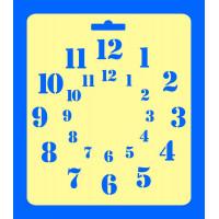 ПКФ Созвездие 050457 Трафарет №53 Арабский круг д.24+д.15 см 24х28 см Трафарет №53 Арабский круг д.24+д.15 см 24х28 см