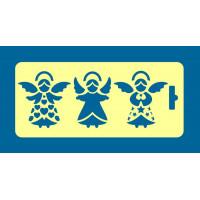 """ПКФ Созвездие 050503 Трафарет """"Ангелы"""""""