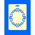 """ПКФ Созвездие 050513 Трафарет """"Рамка овальная"""""""