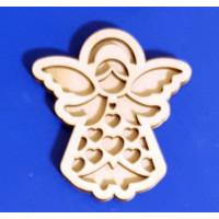 ПКФ Созвездие 050580 Ангел №10 (сердечки) двойной 15 см Ангел №10 (сердечки) двойной 15 см