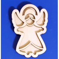 ПКФ Созвездие 050584 Ангел №11 двойной 25 см