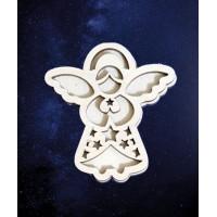 ПКФ Созвездие 050623 Ангел №12 (звездочки) двойной 25 см