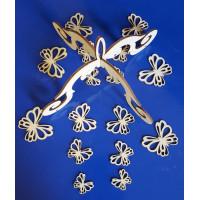 ПКФ Созвездие 050672 Заготовка для мобиля с бабочками