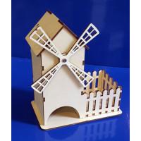 ПКФ Созвездие 050675 Чайный домик Мельница №2+конфетница 18х9х20 см