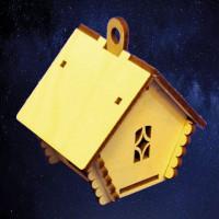 ПКФ Созвездие 050744 Избушка с подвесом