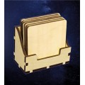 ПКФ Созвездие 050964 Коробочка с подставками под горячее