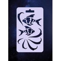 "ПКФ Созвездие 050978 Трафарет ""Рыбки"""
