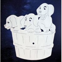 ПКФ Созвездие 051226 Циферблат 3 щенка
