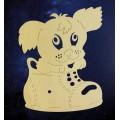 ПКФ Созвездие 051227 Циферблат Щенок в ботинке