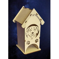 ПКФ Созвездие 051229 Чайный домик средний Ротвейлер