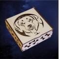 ПКФ Созвездие 051239 Шкатулка квадратная Ротвейлер