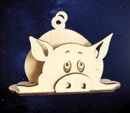 ПКФ Созвездие 051503 Салфетница Свинка