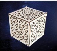 ПКФ Созвездие 051532 Шкатулка Кубик с узором