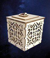 ПКФ Созвездие 051535 Коробочка для подарка резная №1