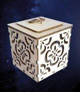 ПКФ Созвездие 051536 Коробочка для подарка резная №2